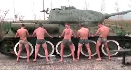 Кадеты Новороссийска танцуют twerk
