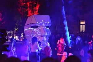 Инсталляция «Голова» и световое шоу