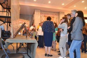 Экспозиция о кубанском казачьем хоре в фойе ЦКЗ