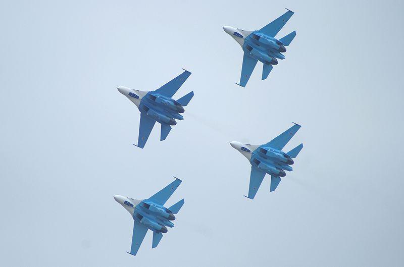Авиагруппа «Соколы России», авиашоу