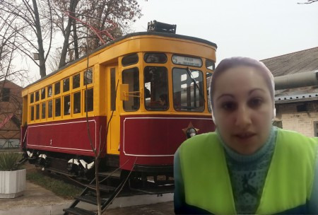 Депо женщина МУП КТТУ Краснодар