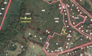 Спорные земли и участок ЖК «Центральный парк»