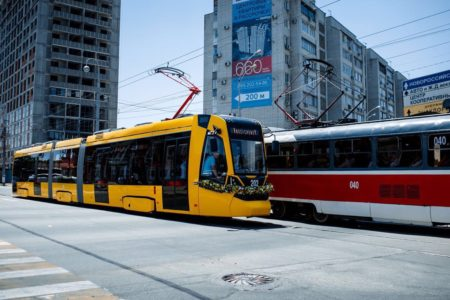 Трамвай Метелица Краснодар
