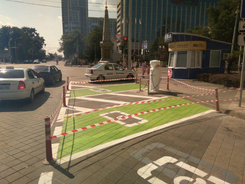 Зарядная станция для электромобилей в Краснодаре